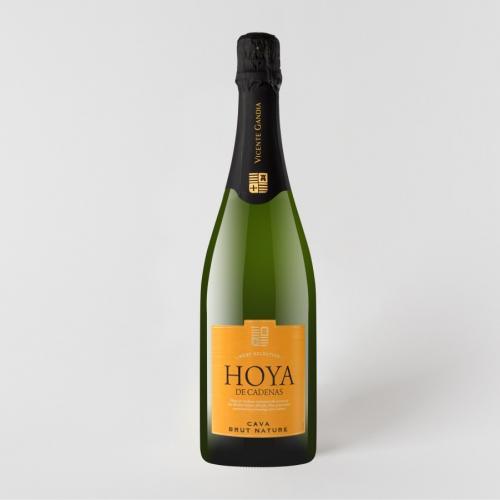 Hoya De Cadenas Brut Nature Cava Pezsgő 0.75L
