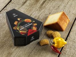 Snock Füstölt Cheddar sajtos-chilis snack